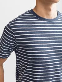 Docks Stripet T-skjorte 7232314_JP5_DOCKS STRIPE T-SHIRT_DETAIL_L_EGS_Docks Stripet T-skjorte EGS.jpg_Right||Right