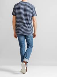 Docks Stripet T-skjorte 7232314_JP5_DOCKS STRIPE T-SHIRT_BACK_L_EGS_Docks Stripet T-skjorte EGS.jpg_Back||Back