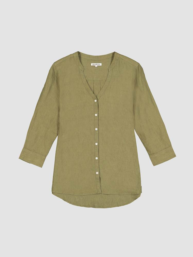 Lucia Linbluse 7246592_AFP-JEANPAULFEMME-H21-front_47398_Lucia Linen Blouse_Lucia Linbluse AFP_Lucia Linen Blouse 7246592.jpg_Front  Front
