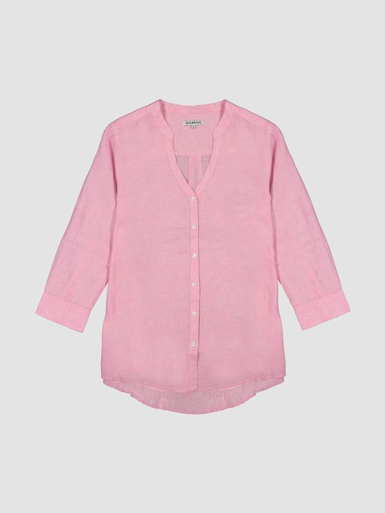 Lucia Linbluse 7246592_MJX-JEANPAULFEMME-H21-front_2428_Lucia Linen Blouse_Lucia Linbluse MJX_Lucia Linen Blouse 7246592.jpg_Front||Front