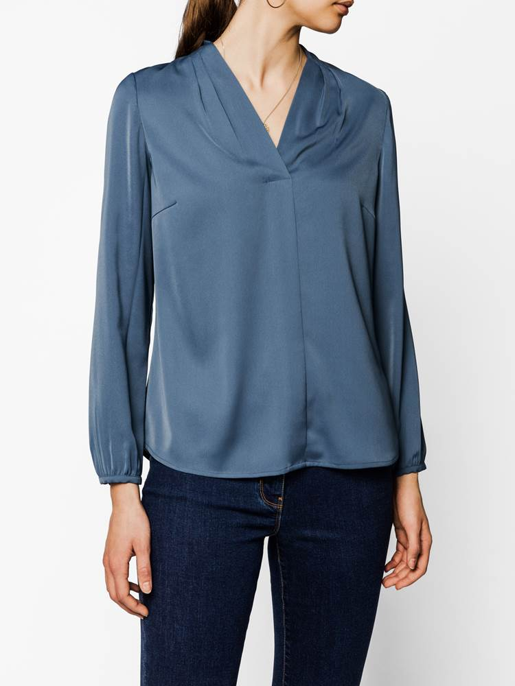 Vivian Bluse 7239208_ENC-MARIE PHILIPPE-A19-modell-front_Vivian Bluse ENC.jpg_Front||Front