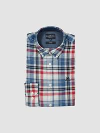Indigo Check Skjorte - Regular Fit 7238753_D03-JEANPAUL-A19-front_Indigo Check Skjorte - Regular Fit D03_Indigo Check Shirt.jpg_Front||Front