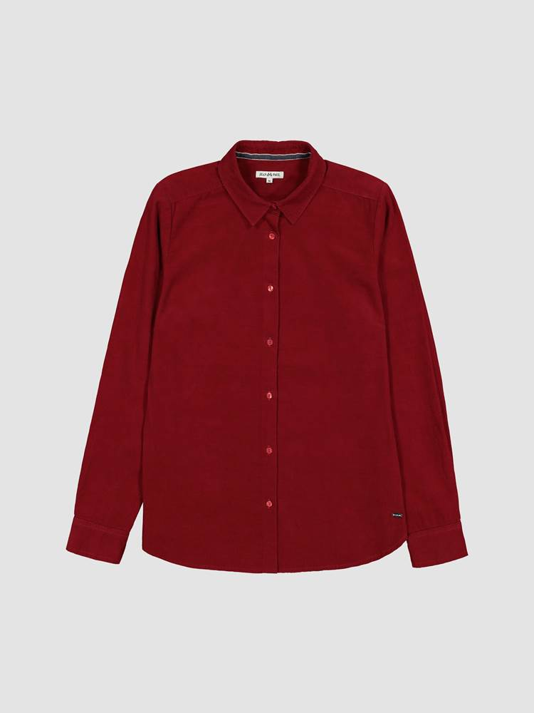 Rosa Cord Skjorte 7238624_K6B-JEANPAULFEMME-A19-front_61203_Rosa Cord Skjorte K6B_Rosa Corduroy Shirt.jpg_Front||Front