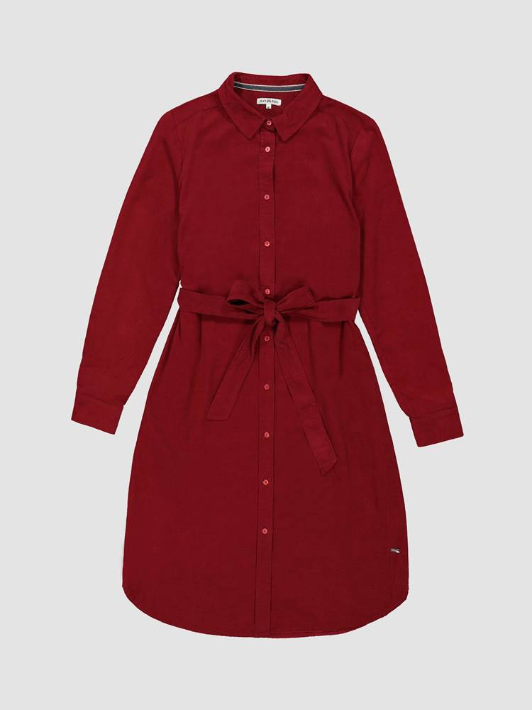 Rosa Cord Kjole 7238623_K6B-JEANPAULFEMME-A19-front_404_Rosa Cord Kjole K6B_Rosa Corduroy Dress.jpg_Front||Front