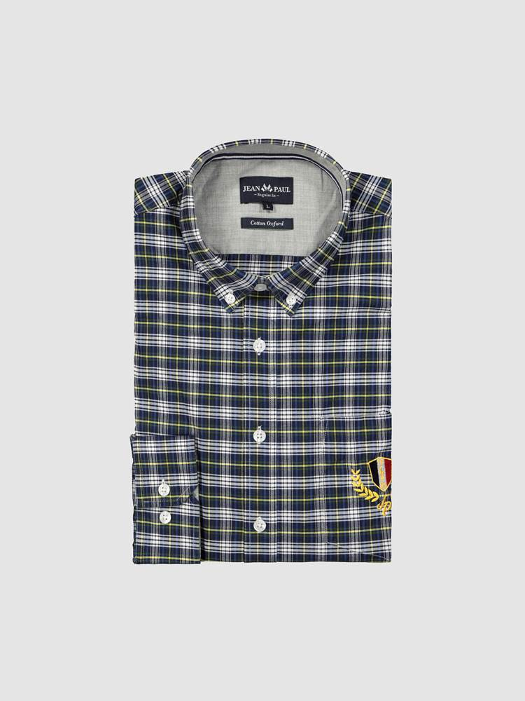 Maurice Oxford Skjorte - Regular Fit 7238881_ENB-JEANPAUL-A19-front_Maurice Oxford Shirt_Maurice Oxford Skjorte - Regular Fit ENB.jpg_Front||Front