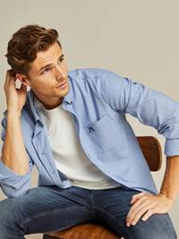 Kent Twill Skjorte - Classic Fit 7238988_EGU-JEANPAUL-A19-Modell-front_60285_Kent Twill Skjorte - Classic Fit EGU.jpg_Front||Front