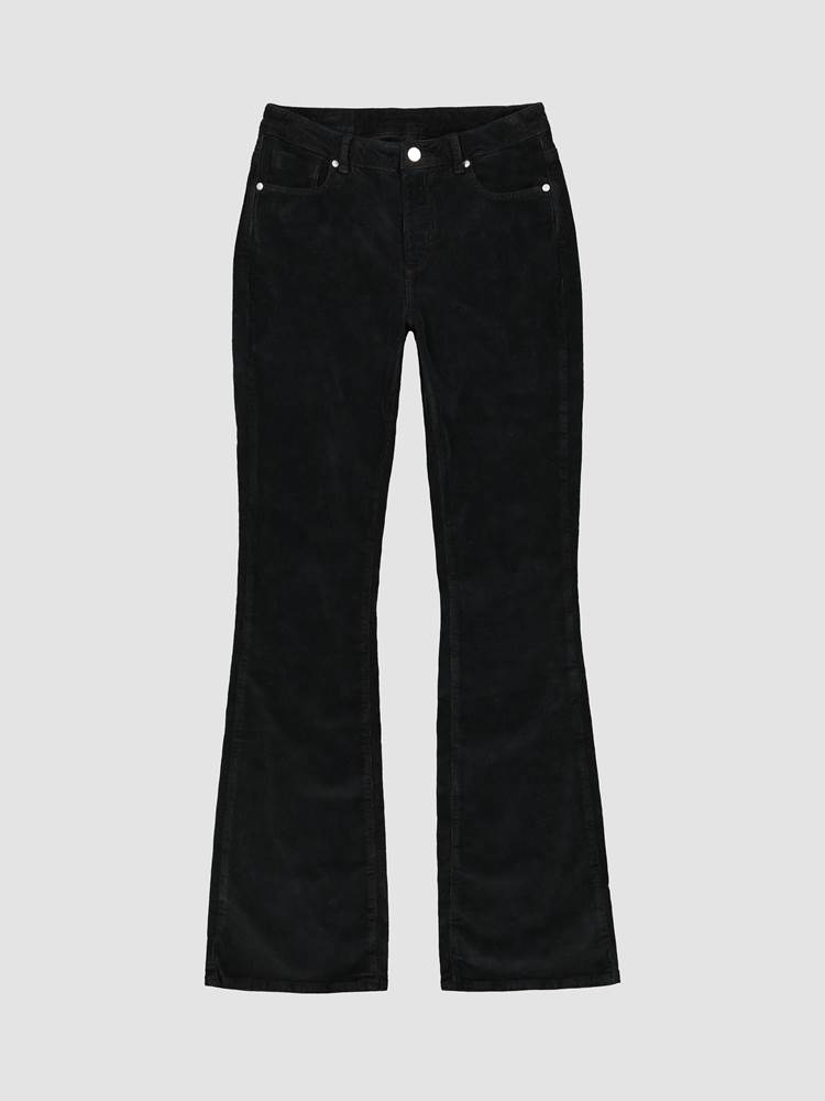 Sabine Cord Flare Pant 7239744_CAB_JeanPaul_AW19-front_Sabine Cord Flare Pant CAB.jpg_Front||Front