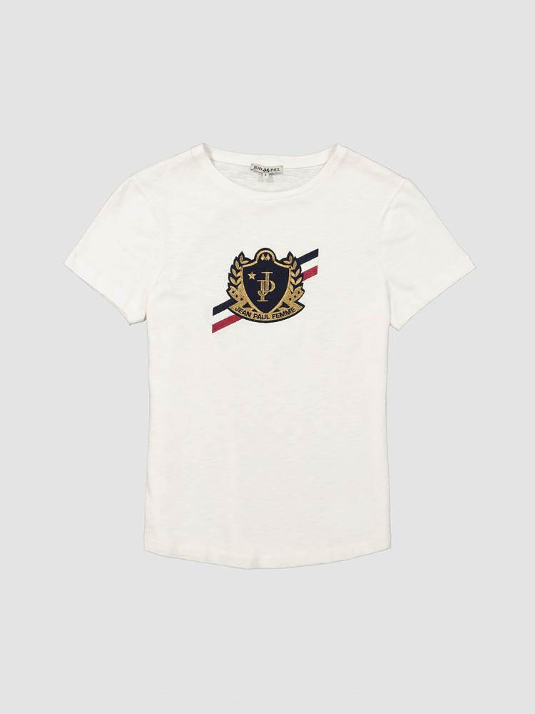Crest T-Skjorte 7238693_O68-JEANPAULFEMME-A19-front_Crest T-Skjorte O68_Crest Tee.jpg_Front||Front