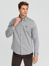 Carl Twill Skjorte - Regular Fit 7244186_GOY-JEANPAUL-A20-Modell-front_39675_Carl Twill Skjorte - Regular Fit GOY.jpg_Front||Front