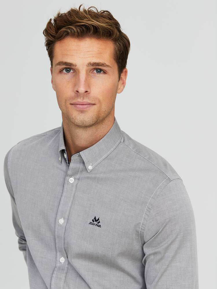Carl Twill Skjorte - Regular Fit 7244186_GOY-JEANPAUL-A20-Modell-front_25790_Carl Twill Skjorte - Regular Fit GOY.jpg_Front||Front