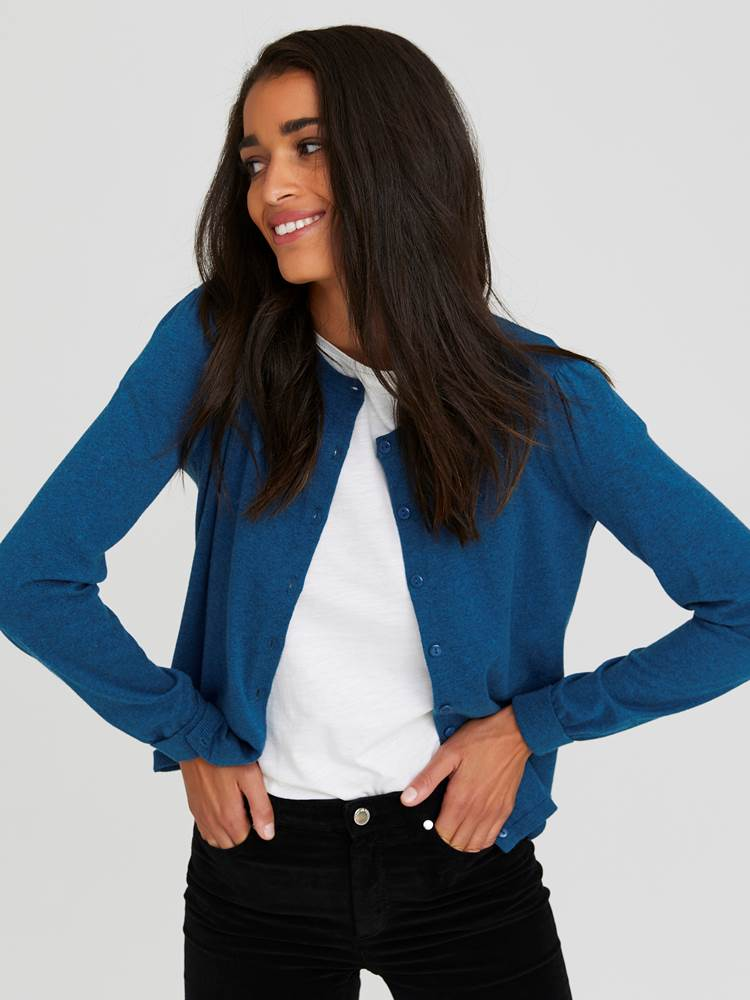 Agnes Cardigan 7243853_EHS-JEANPAULFEMME-A20-Modell-front_17778_Agnes Cardigan EHS.jpg_Front  Front