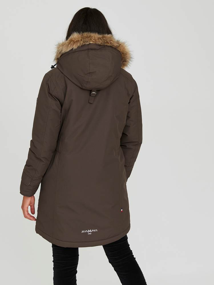 Carry Parkas 7244016_AIB-JEANPAULFEMME-A20-Modell-back_59228_Carry Parkas AIB.jpg_Back||Back