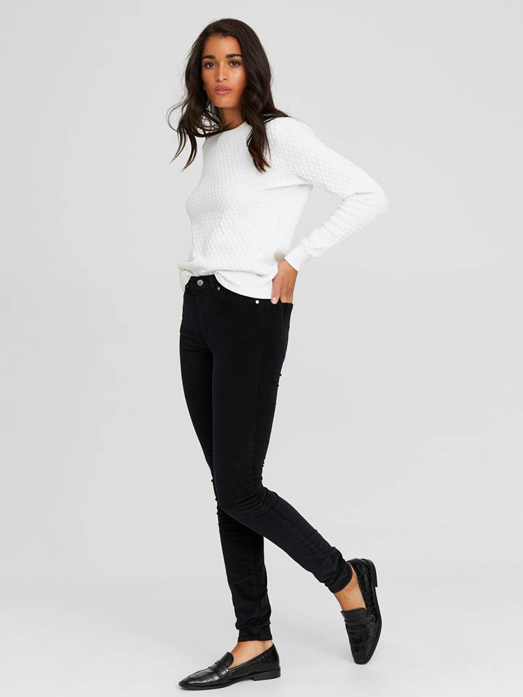 Sabine Cord Bukse 7244329_CAB-JEANPAULFEMME-A20-Modell-front_40158_Sabine Cord Bukse CAB.jpg_Front||Front