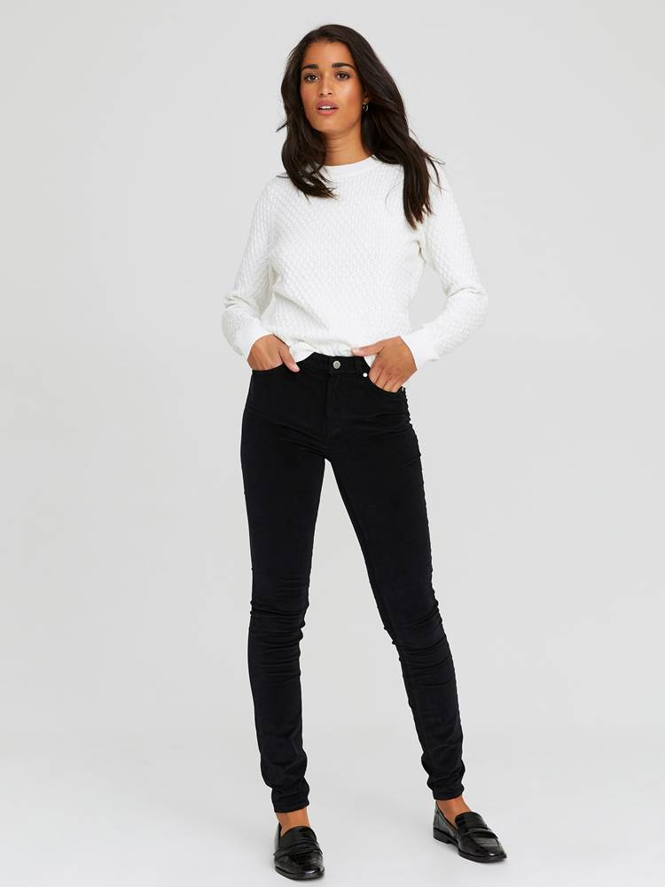 Sabine Cord Bukse 7244329_CAB-JEANPAULFEMME-A20-Modell-front_72935_Sabine Cord Bukse CAB.jpg_Front||Front