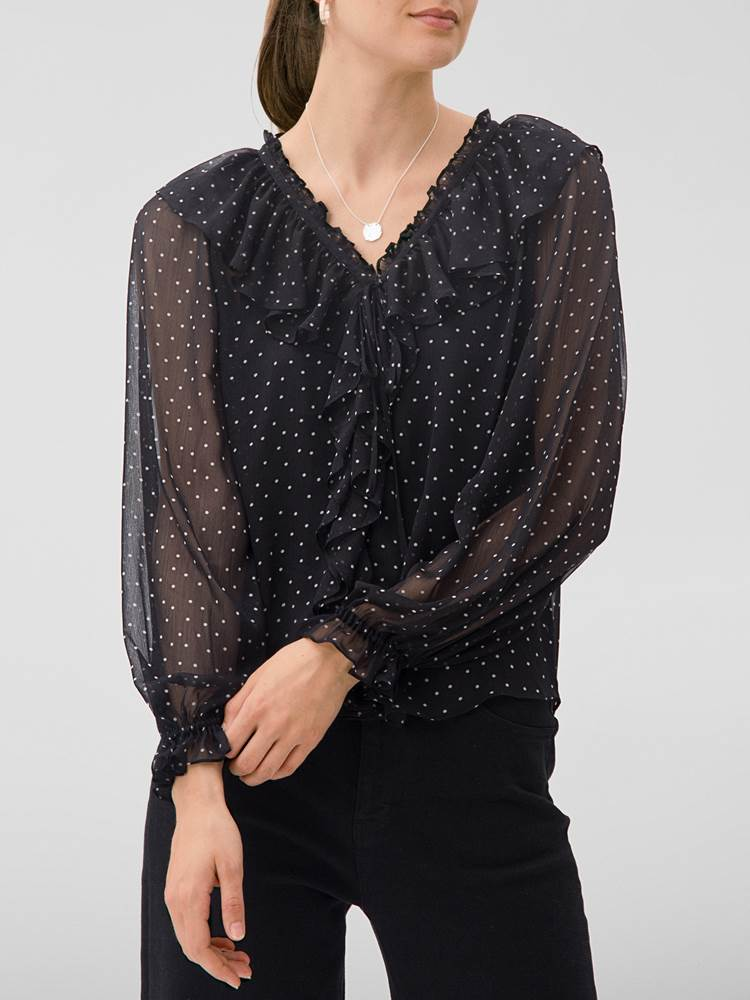 Penny Bluse 7245582_CAB-MARIE PHILIPPE-W20-Modell-front_Penny Bluse CAB.jpg_Front||Front