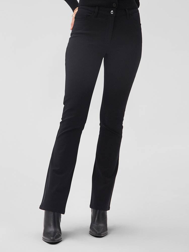 Paris Flare Bukse 7244703_CAB-MARIE PHILIPPE-A20-Modell-front.jpg_Front||Front