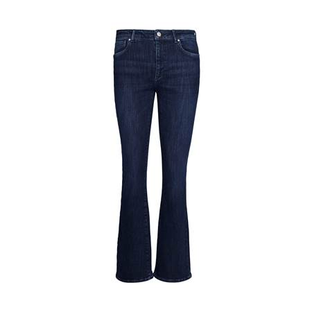 Sophia High Waist Flared Blue Powerstretch Jeans