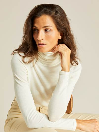 Pierette Merino Roll Neck OAF