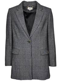Nancy Rutet Blazer 7234339_IEL-JEAN PAULFEMME-A18-front_Nancy Rutet Blazer IEL_Nancy Check Blazer.jpg_