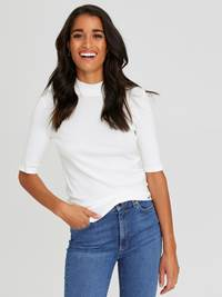 Maebelle Topp 7245396_O79-JEANPAULFEMME-W20-Modell-front_59496_Maebelle Topp O79.jpg_Front||Front