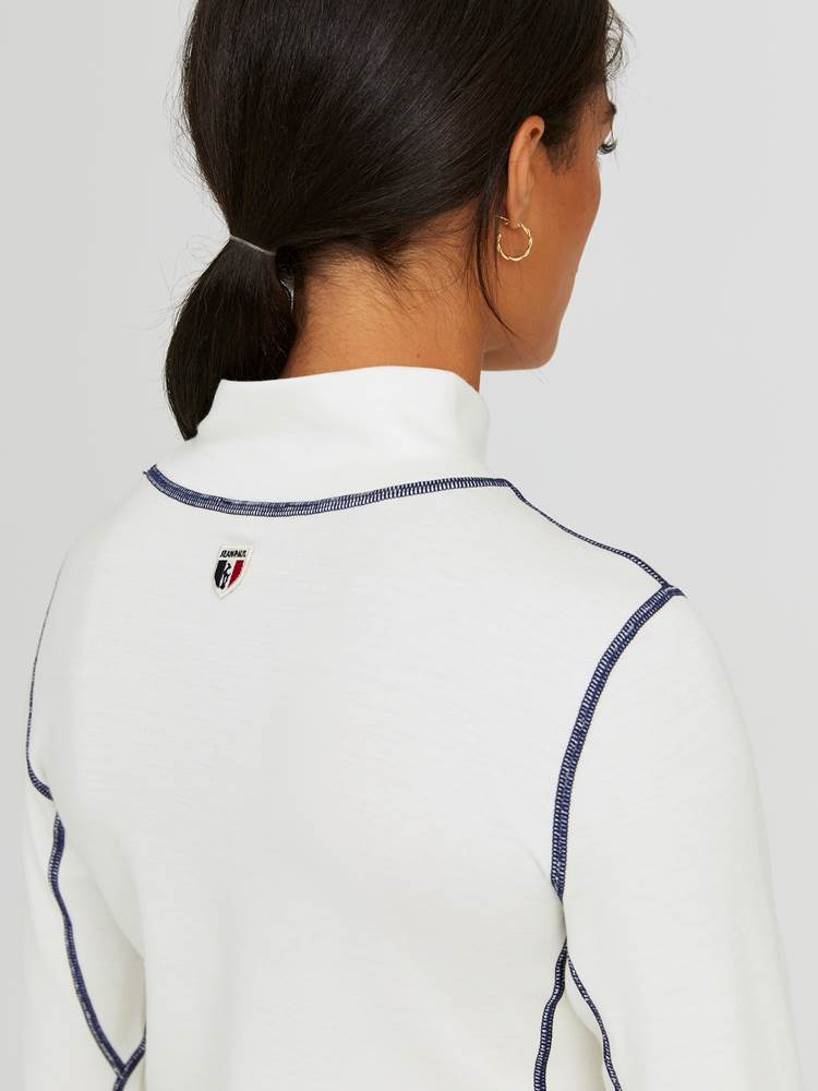 Ginette Polo 7245030_OAF-JEANPAULFEMME-W20-Modell-back_65730_Ginette Polo OAF 7245030 7245030 7245030 7245030 7245030 7245030 7245030.jpg_Back||Back