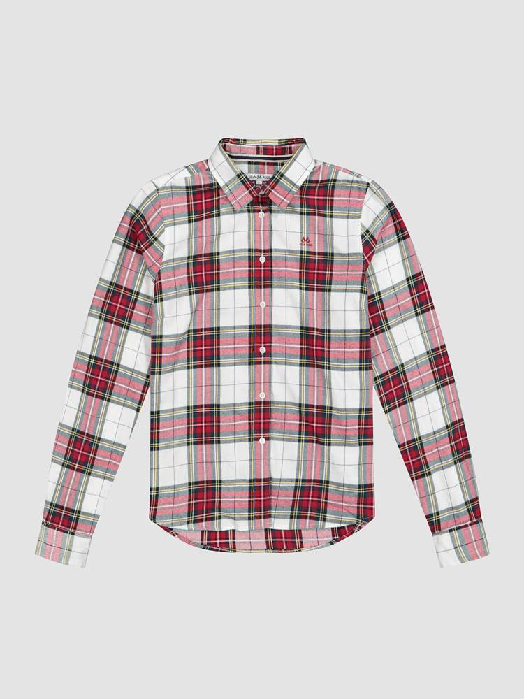 Mirelle Flanell Shirt 7240523_K5X-JEANPAULFEMME-W19-front_Mirelle Flanell Shirt_Mirelle Flanell Shirt K5X.jpg_Front||Front
