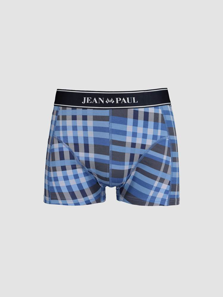 Blue Check Boxer 7240686_EOX_jeanpaul_W19-front_Blue Check Boxer EOX.jpg_