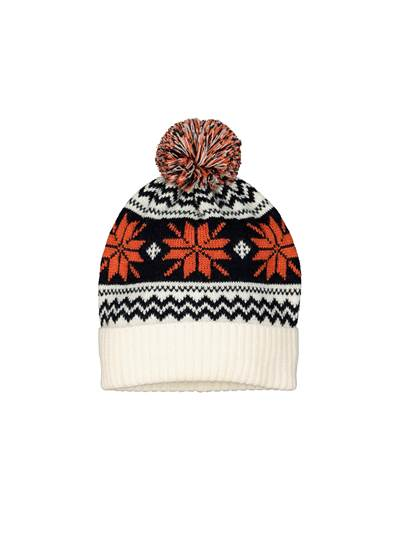 Fair Isle Strikkelue O79