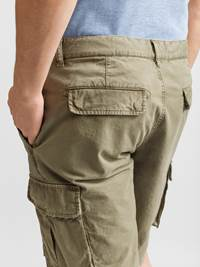 Mike Cargo twill shorts 7232238_JP52_MIKE CARGO TWILL BERMUDA_DETAIL_GMM_L_Mike Cargo twill shorts GMM.jpg_Right||Right