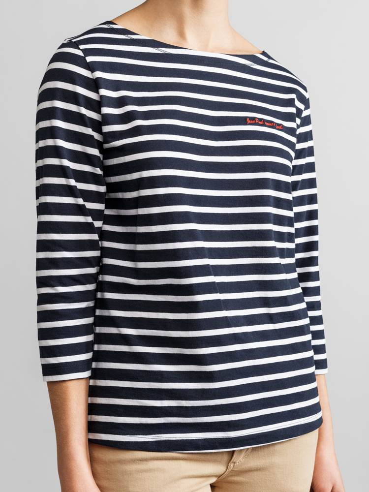 Sailor stripet T-skjorte 7233182_JEAN PAUL_SAILOR STRIPE_DETAIL_S_EM6_Sailor stripet T-skjorte EM6.jpg_Front||Front