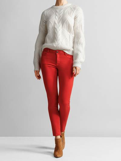 Sabine Color Cropped Jeans KBF