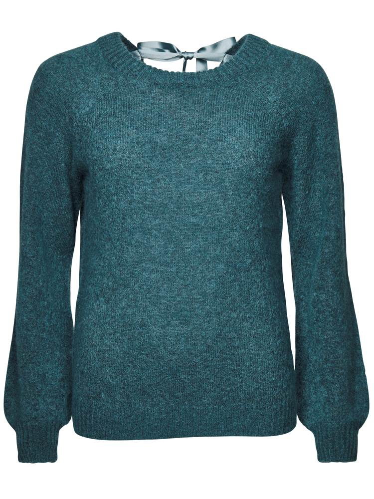 Satinia Genser 7234716_GPJ-MARIEPHILIPPE-A18-front_Satinia Genser GPJ_Satinia Bow Sweater.jpg_
