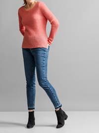 Lucille Genser 7231099_JEAN PAUL_LUCILLE SWEATER_FRONT_MLO_S_Lucille Genser MLO.jpg_Front||Front