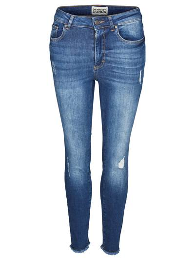 Skinny Cropped Stretch Jeans D06