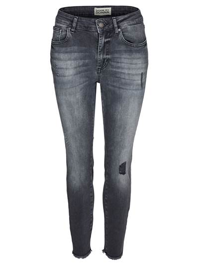 Skinny Cropped Stretch Jeans D05