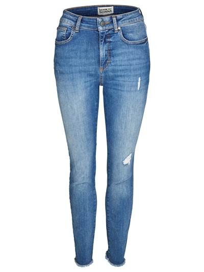 Skinny Cropped Stretch Jeans DAD