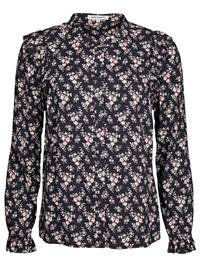 Flower Bluse 7235770_CAB-MARIE PHILIPPE-A18-front_Flower Bluse CAB_Flower Blouse.jpg_Front  Front