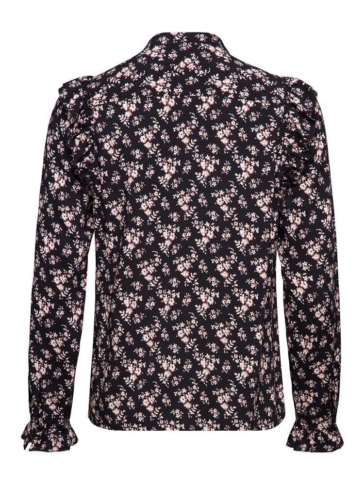 Flower Bluse 7235770_CAB-MARIE PHILIPPE-A18-back_Flower Bluse CAB_Flower Blouse.jpg_Back||Back