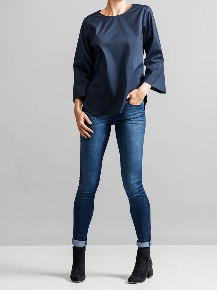 Patrice Stretch Bluse 7231586_JEAN PAUL_PATRICE STRETCH BLOUSE_FRONT1_S_EM6_Patrice Stretch Bluse EM6.jpg_Front||Front