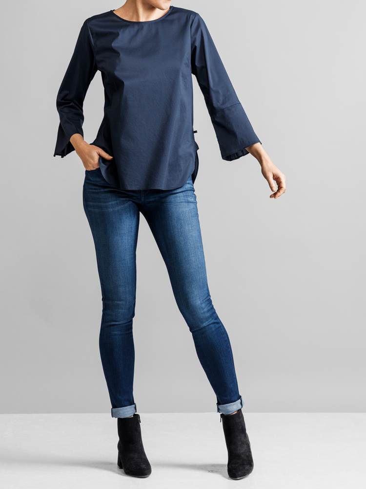 Patrice Stretch Bluse 7231586_JEAN PAUL_PATRICE STRETCH BLOUSE_FRONT_S_EM6_Patrice Stretch Bluse EM6.jpg_Front||Front
