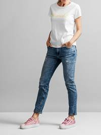 Color T-skjorte 7231096_JEAN PAUL_COLOR TEE_FRONT1_S_O68_Color T-skjorte O68.jpg_Front||Front