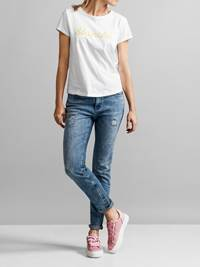 Color T-skjorte 7231096_JEAN PAUL_COLOR TEE_FRONT_S_O68_Color T-skjorte O68.jpg_Front||Front
