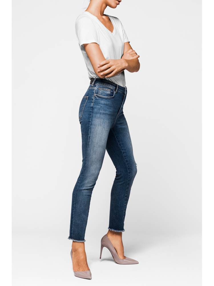 Skinny Cropped Stretch Jeans 7235446_DAD-MCDONNA-A18-Modell-right_Skinny Cropped Stretch Jeans DAD.jpg_Right||Right