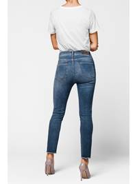 Skinny Cropped Stretch Jeans 7235446_DAD-MCDONNA-A18-Modell-back_Skinny Cropped Stretch Jeans DAD.jpg_Back||Back