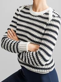 Sailor Genser 7231101_JEAN PAUL_SAILOR SWEATER_FRONT1_S_EM6_Sailor Genser EM6.jpg_Front||Front