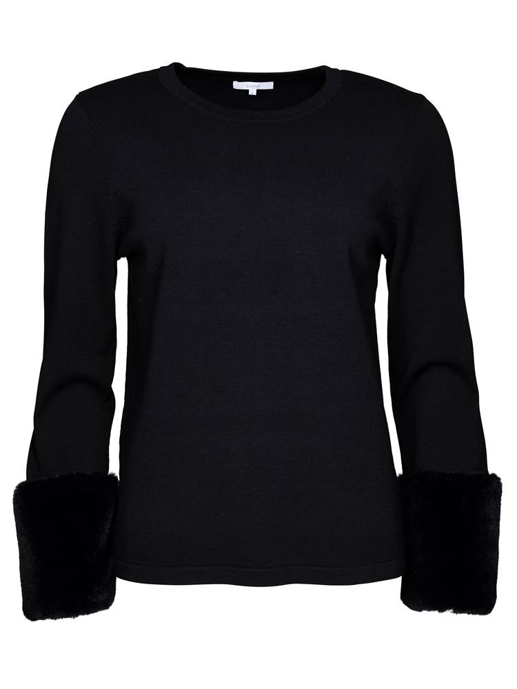 Mallory Genser 7234530_CAB-DONNA-A18-front_Mallory Genser CAB_Mallory Sweater.jpg_Front||Front