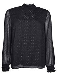 Marquesa glitterbluse 7235914_CAB-VAVITE-W18-front_Marquesa glitterbluse CAB_Marquesa Glitter Blouse.jpg_Front||Front