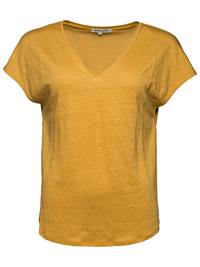 Ellen Lin T-skjorte 7234545_ABU-MARIE PHILIPPE-A18-front_Ellen Lin T-skjorte ABU_Ellen Linen Tee.jpg_Front||Front