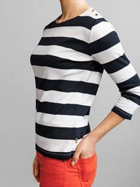 Ally Stripet Topp 7232960_JEAN PAUL_ALLY STRIPE TOP_DETAIL_S_EM6_Ally Stripet Topp EM6.jpg_Left||Left