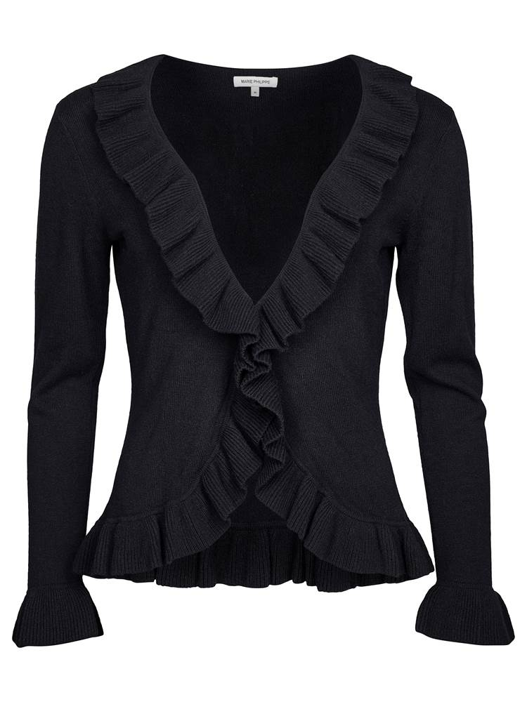 Beauty Cardigan 7237353_CAB-MARIE PHILIPPE-W18-front_Beauty Cardigan CAB.jpg_Front||Front